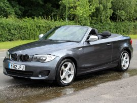 BMW 1 Series 118d 2.0 Exclusive Edition Convertible